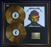 Metallica - 24 Carat Gold Double Disc + Cover - Hardwired. to Self-Destruct